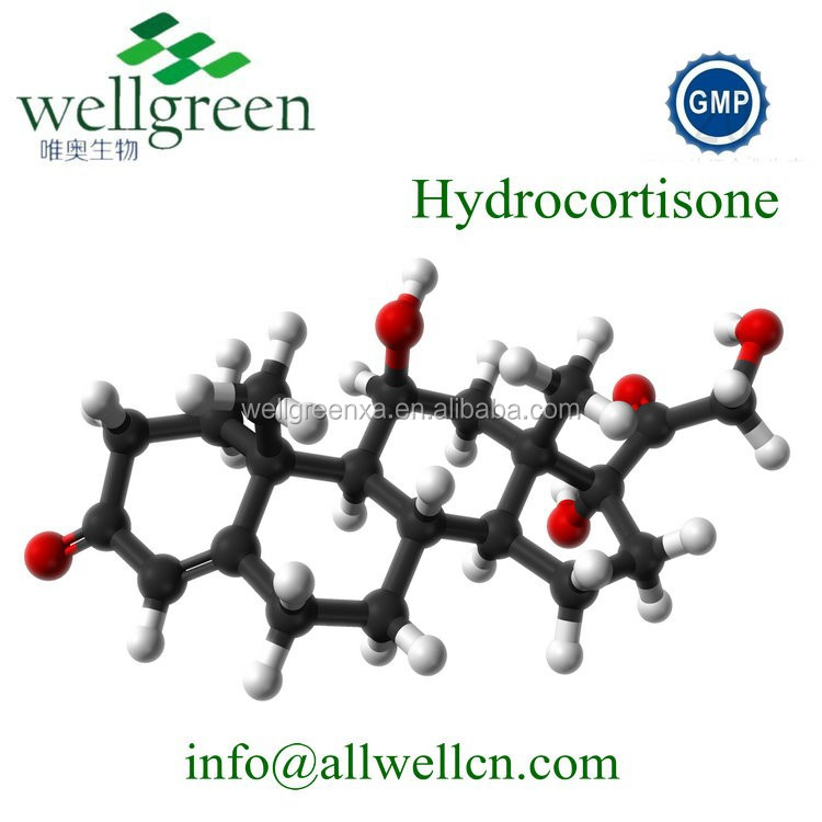 Wellgreen API high purity Cortisol wholesale steroids