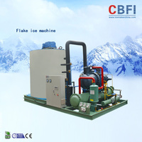 stainless steel 316 Flake Ice machine maker for seawater