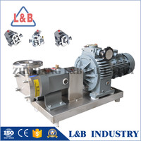 Stainless Steel Grease Rotary Lobe Pump with pressure(China supplier)