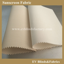 Fire Retardant Sunscreen Roller Blinds Fabric