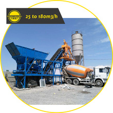 Wide Used Factory Price 25m3/h HZS25 25 Cubic Meter Stationary Precast Small Mini Wet Ready Mix Concrete Batching Plant for Sale