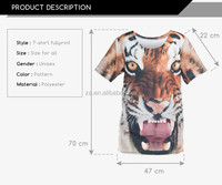 Free Designing service OEM/ODM sublimation high quality fashionable men's custom t-shirt