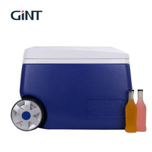 GINT 2018 hot sale large cooler box with wheels and handle for drinking