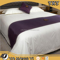 Used Hotel Cotton White Bed Sheets Set