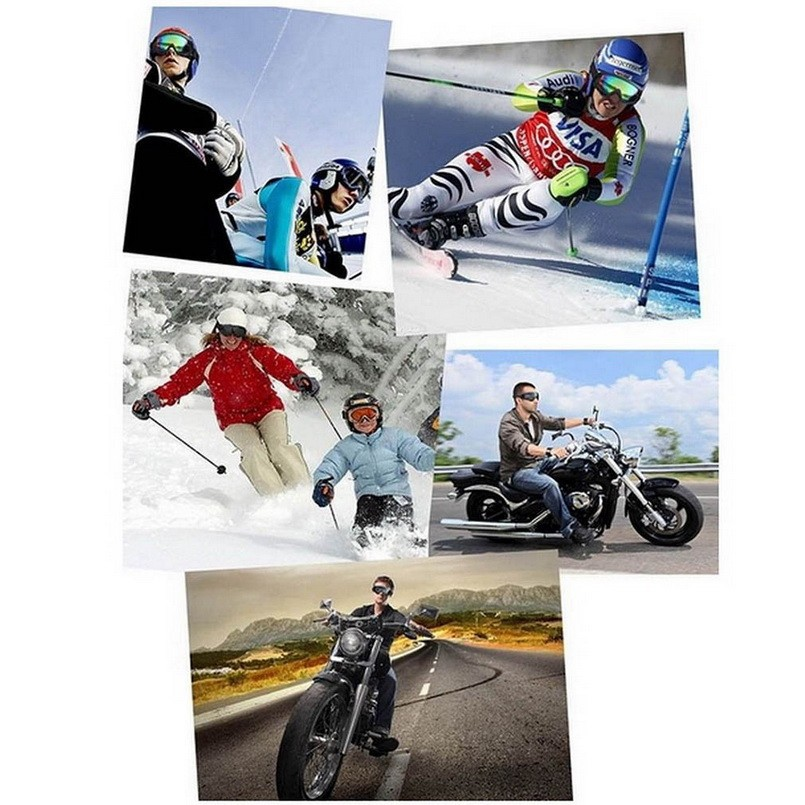 Outdoor Sports UV Ski Snowboard Skate Goggles Motorcycle Cycling Goggle sunglasses Eyewear LensHot New Arrival