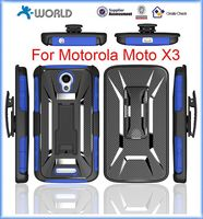 Hybrid Double Layer Phone Case for Moto X3