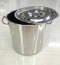 factory price food pail commercial boiling pot hotel kitchen utensils large cooking pot