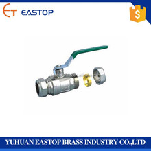 Good Quality Lpg Gas Brass Gas Valve Needle Cock Drain Ball Valve With Forged And High Pressure