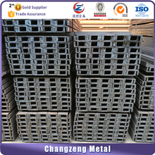 chinese bright support steel c channel price per meter