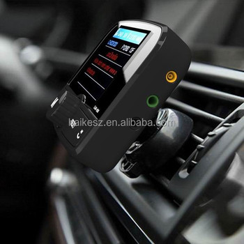In Car dab Color Display Service linking DAB / DAB+ car radio adapter