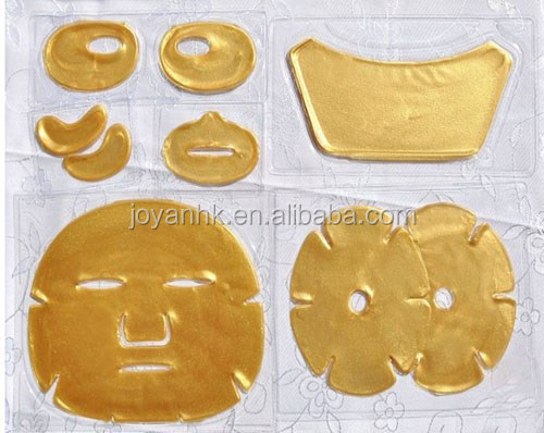 Gold Collagen Q10 Facial Mask for hydration