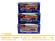 Pull back die-cast fire engine car,metal car