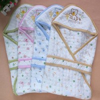 TW2004 cheap wholesale super soft touch animal printed baby swaddle blanket for newborn baby