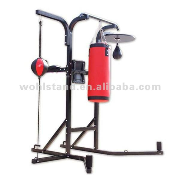 Boxing Stand and Gym Station with Punching Bag