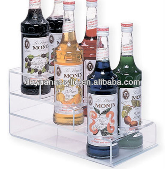 Clear Acrylic Wine Bottle Display Holder with Factory Price
