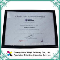 Perfessional Special Paper Certificate Sample for Free