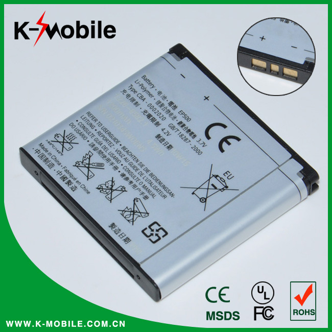 Original Battery EP500 For Sony Ericsson ST17I ST15I SK17I WT18I wt18i wt19i X8