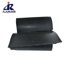 Tear Resistant Cloth Fabric Insert Rubber High Friction Rubber Sheet