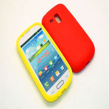 Case for Samsung Mini i8190 Silicon Soft Skin Case for Samsung Galaxy S3 Mini Case Cover Galaxy SIII Mini Free Shipping