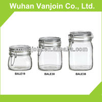 Wholesale Swing Top Glass Jars In Different Sizes