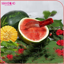 MAXECHO PP Water Melon Cutter Corer Kitchen Fruit Tool Melon Slicer Cutting Knife for Cantaloupe & Watermelon Fruit