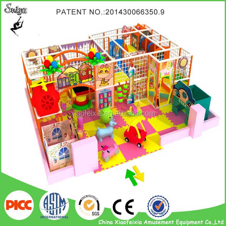 Commercial Indoor Playground Equipment for Kids &Toddler