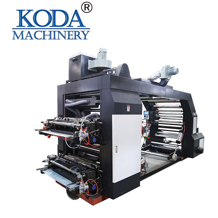 four color new style 4 color flexo printing machine for sale