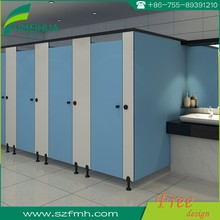 Fumeihua glossy finish hpl panel toilet partition