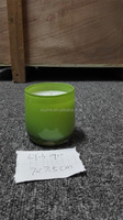 XIUZHE Colored Fragranced candle/candle Jar/glass candle 6015