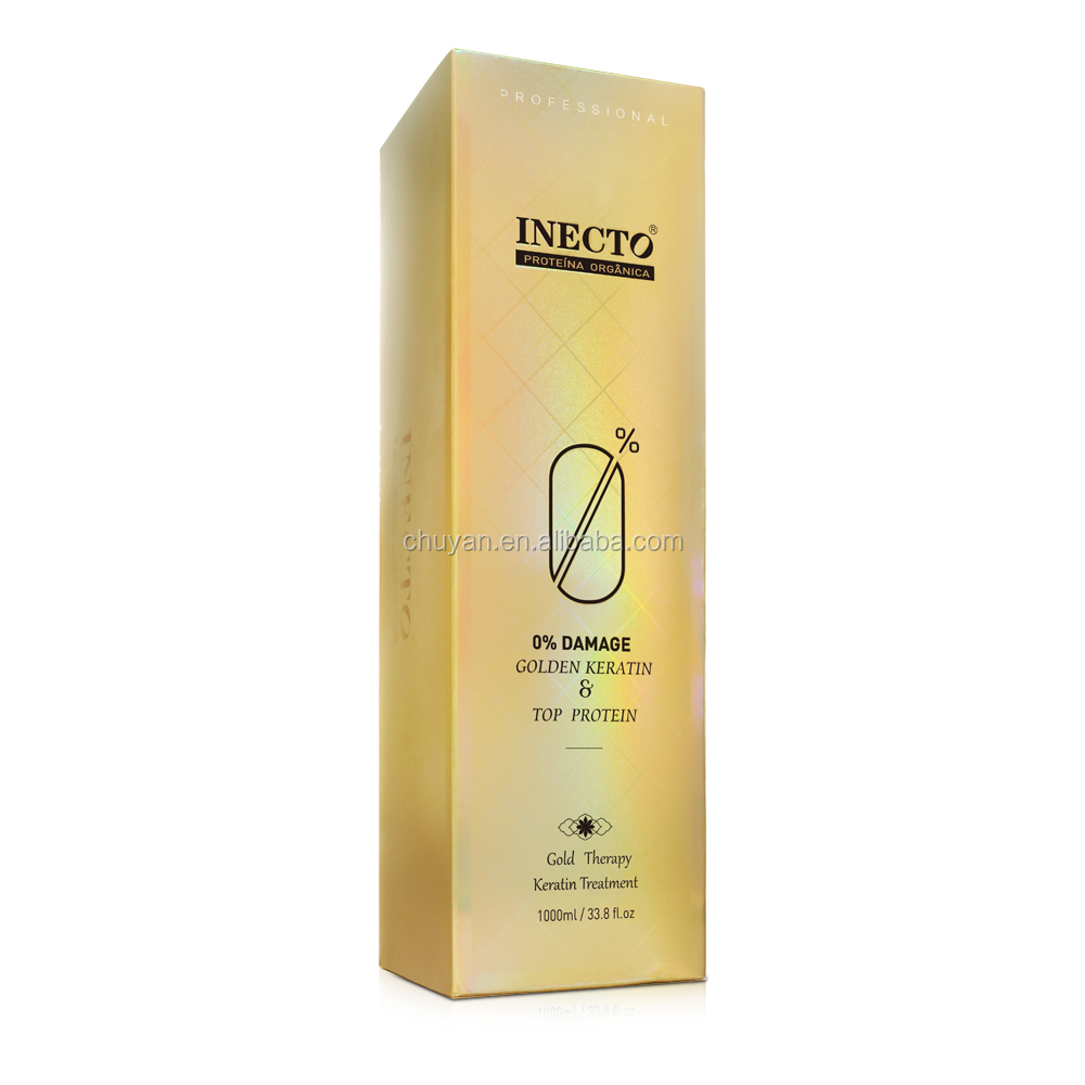 OEM inecto keratin protein hair treatment formaldehyde free straightening cream manufacturer 500ml/1000ml