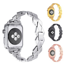 2018 Men Woman Wrist Mesh Strap Metal Buckle Stainless Steel Watch Band For Apple Watch