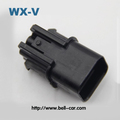 free sample electric motorcycle 3 way waterproof connector PB621-03020