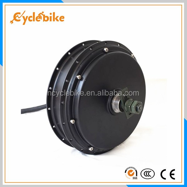 CE 72v 5kw electric bike wheel motor dc electric wheel hub motor