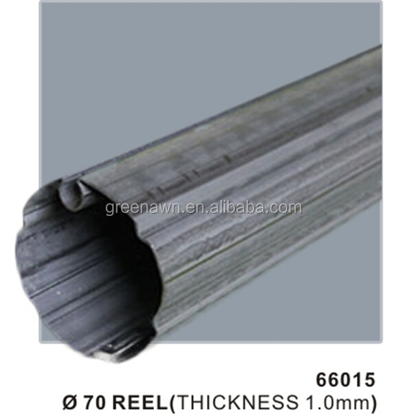70mm galvanized iron pipe for aluminum retractable arm awning