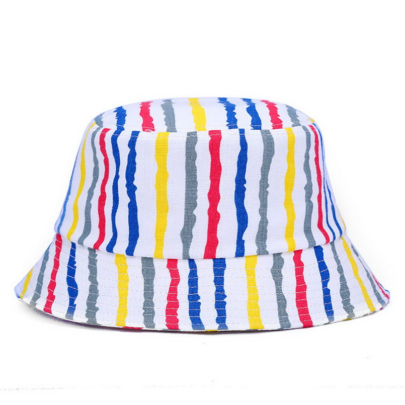 Fashion Design New Print Floral Womens Men Bucket Hats Ladies Girls Summer Beach Hat