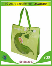 2016 simple design pp non woven bag with laminated