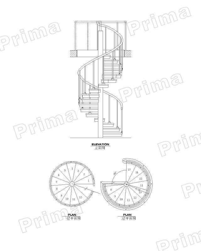 Genial Spiral Staircase Design