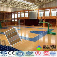 indoor basketball court flooring pvc flooring