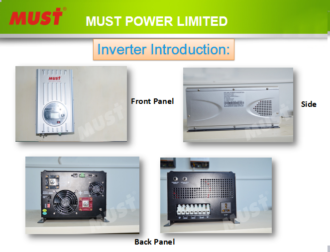 Must Solar Power 3KW inverter for air conditioner