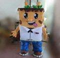 Hola cookies mascot costume/biscuits mascot costume for adult