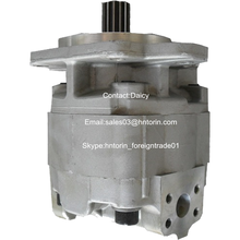 PC30 excavator spare parts single hydraulic gear pump 705-22-22000
