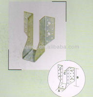 galvanized and pvc coated competitive price metal deck brackets for joists