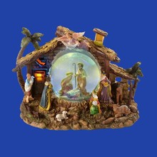 Hot Selling Custom Ball Nativity Scene Religious Snow Globe