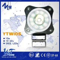 Chinese manufacturer 10W/PC LED DRIVING LIGHT Offroad drving light round led rear lights