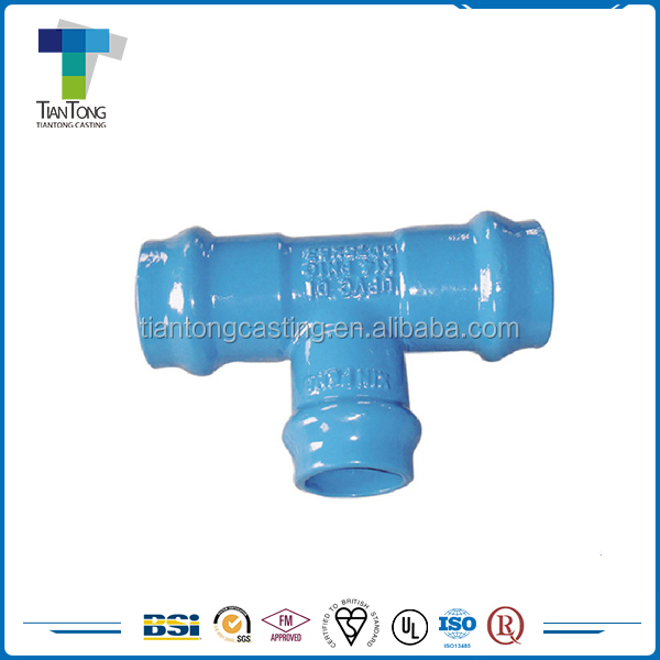 TT-PF33 2016 Wholesale iron PVC pipe fitting tee