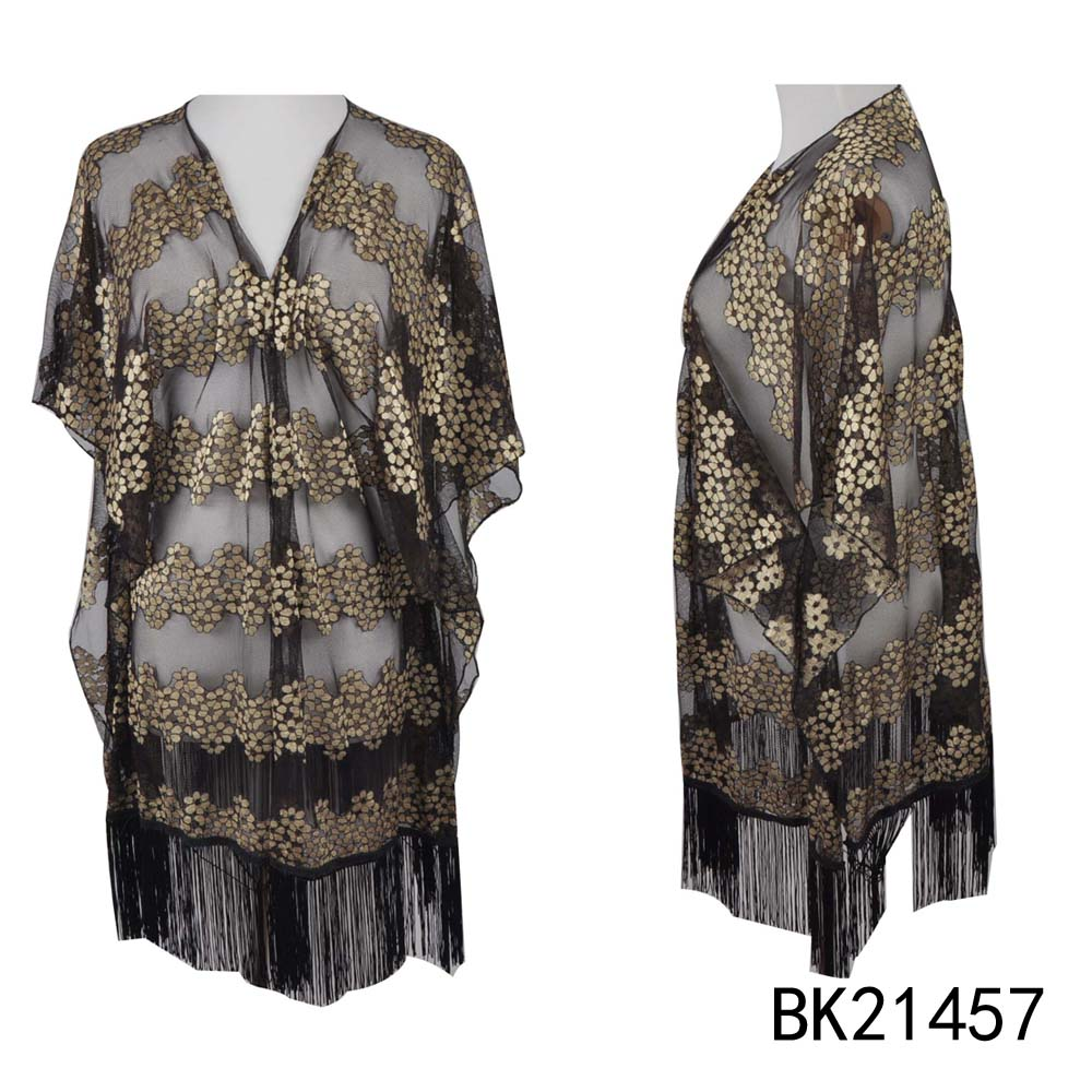 TOROS thin polyester hand knitted ladies dress stoles and shawls