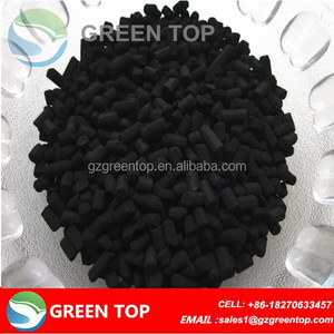 extruded cylindrical activated carbon pellet coal-base for air/water filter