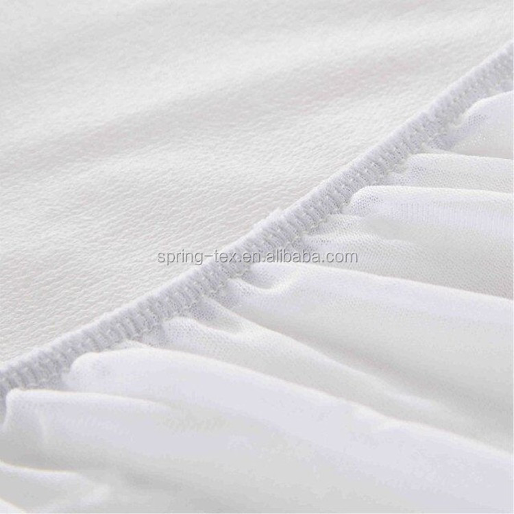 China Factory for USA Market 140GSM Polyester Knitted Waterproof Mattress Cover with Zipper
