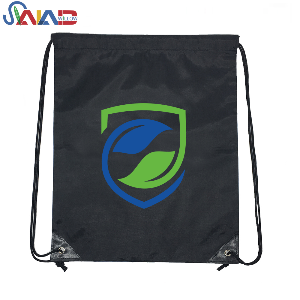 New Design Waterproof Drawstring Backpack Beach Bag Sport Gym Drawstring Bags for boys