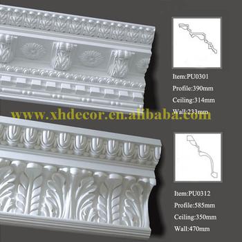 Original manufacturer crown moldings plastic cornice for Fiberglass crown molding